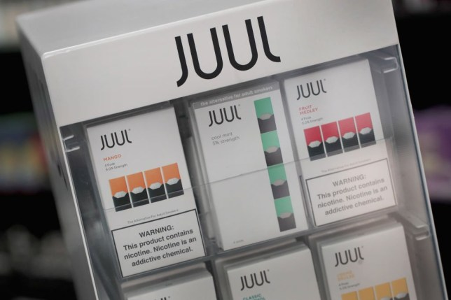 a juul pods dispenser