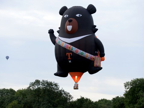 The weirdest balloons at the Bristol International Balloon Fiesta