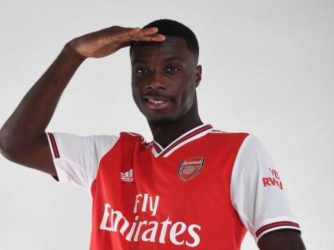 Unai Emery considers postponing Nicolas Pepe's debut for Arsenal