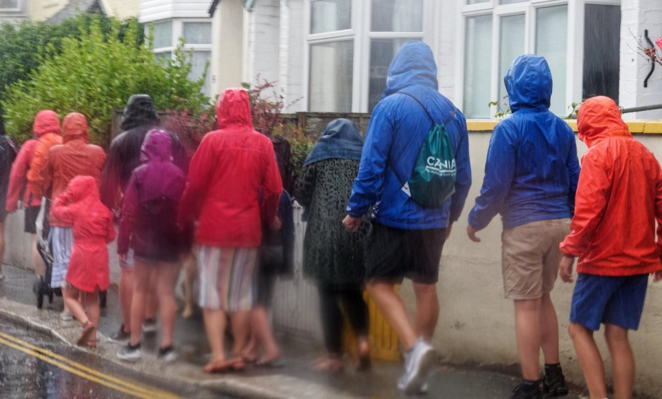 UK weather forecast as heavy rain batters country with more