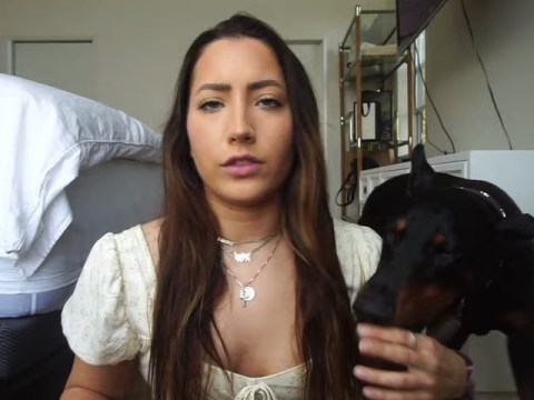 Brooke Houts faces petition calling for removal from YouTube after 'dog abuse' video