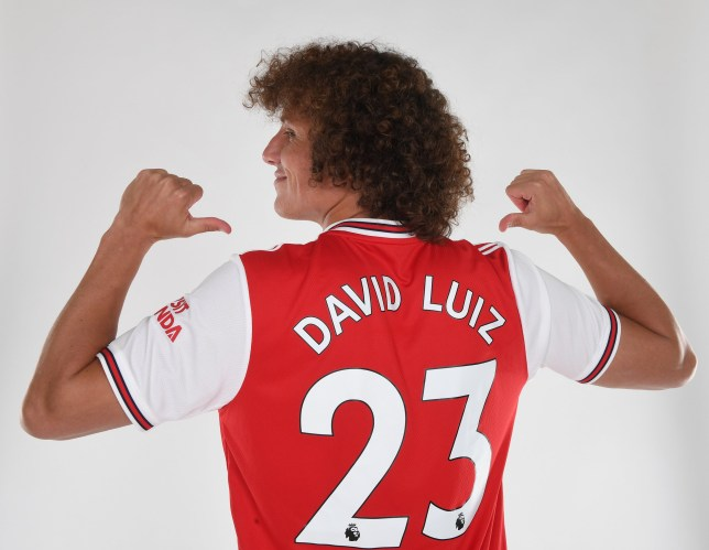 Arsenal completed the deadline day transfer of David Luiz from Chelsea