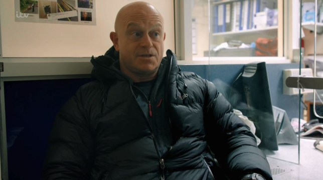 Ross Kemp in Living With Knife Crime on ITV
