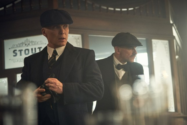 Cillian Murphy (Tommy Shelby) and Paul Anderson (Arthur Shelby) in Peaky Blinders | Series 5 (BBC One) | Episode 02 Photographer: Robert Viglasky ?? Caryn Mandabach Productions Ltd. 2019