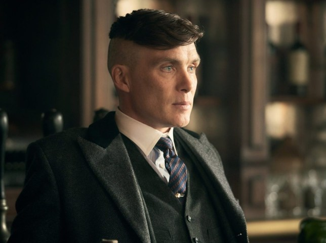 Cillian Murphy (Tommy Shelby) in Peaky Blinders