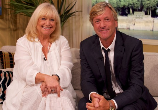 Editorial use only Mandatory Credit: Photo by Ken McKay/ITV/REX (10358165as) Judy Finnigan, Richard Madeley 'This Morning' TV show, London, UK - 09 Aug 2019 RICHARD AND JUDY ARE BACK! They?re the daytime TV legends who are also successful authors. Richard and Judy are back on the sofa to chat about their annual 'Search for a Bestseller' competition, plus they?ll open up about life as grandparents to their expanding family.