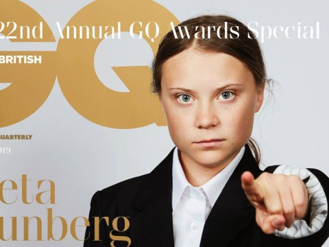 Greta Thunberg to be recognised at GQ Men Of The Year awards