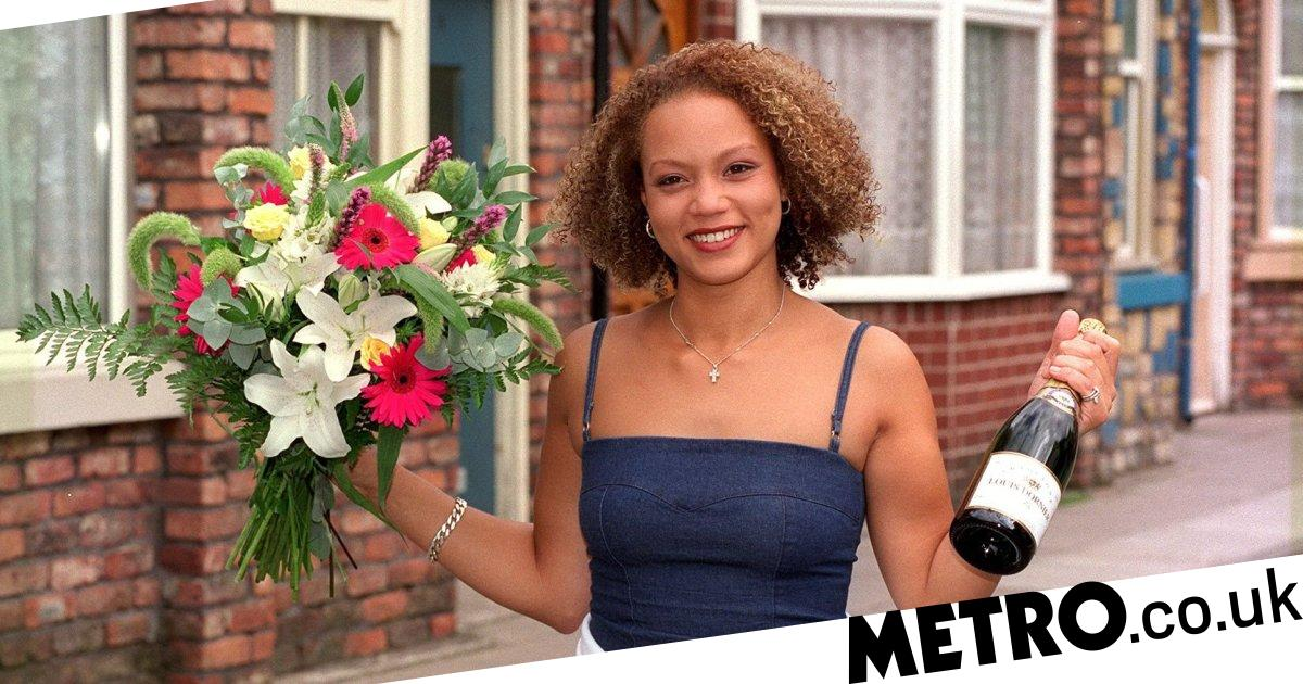 who did angela griffin play in corrie