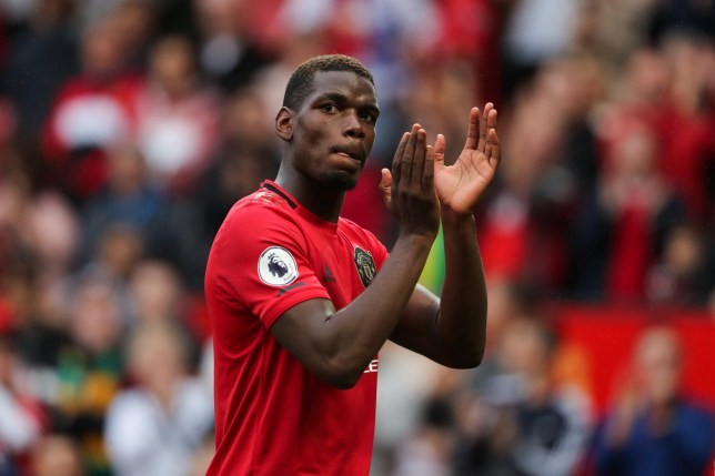 Paul Pogba said he wanted to leave Manchester United this summer