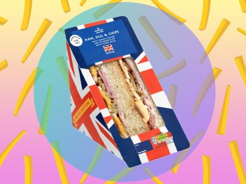 Morrisons has just launched a ham, egg and chips sandwich