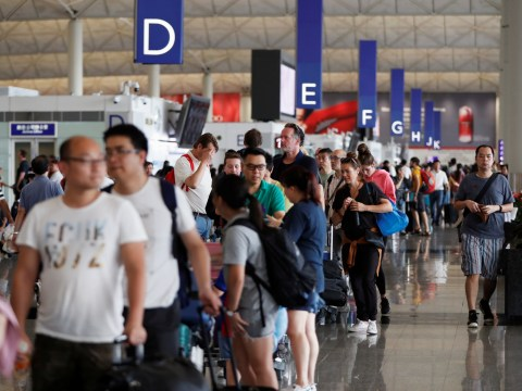 British travellers warned of stricter checks in Hong Kong airport amid protests