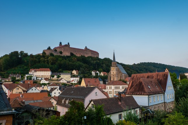 Panorama of Kulmbach