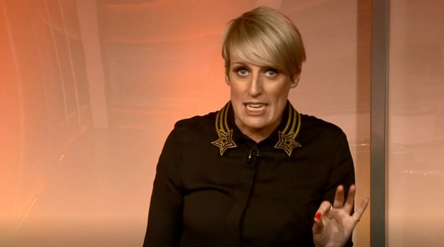 Steph McGovern. BBC Breakfast 13.08.2019 (Picture: BBC)