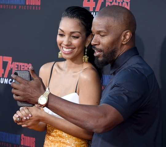 Jamie Foxx and Sylvester Stallone share proud dad moment on