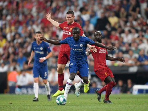 N'Golo Kante ruins James Milner with superb nutmeg in Chelsea's Super Cup clash vs Liverpool