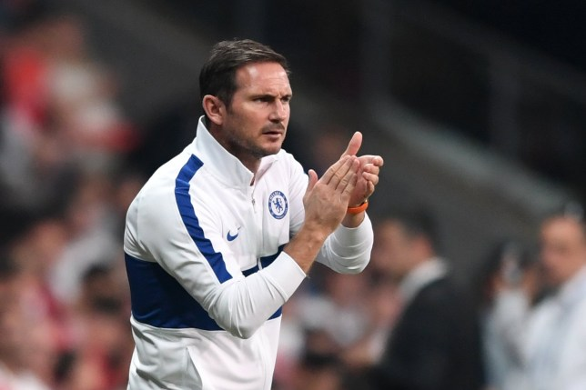 Frank Lampard suffered a defeat with Chelsea in the Super Cup final against Liverpool