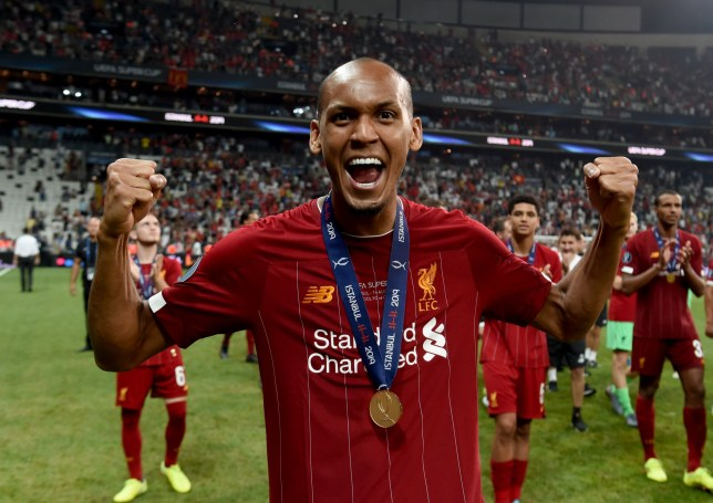 Fabinho helped Liverpool to victory in the Super Cup against Chelsea