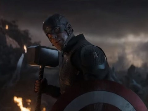 Avengers' Chris Evans blesses us with Endgame remix of iconic scene with Thor's hammer