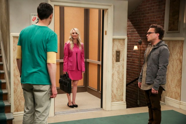 The elevator works in The Big Bang Theory