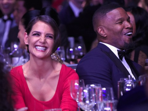 Katie Holmes and Jamie Foxx 'split months ago' before he was pictured partying with model Sela Vave