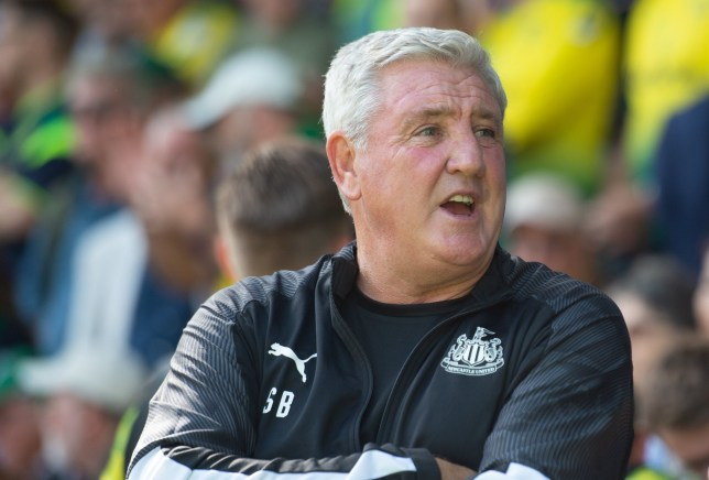 Steve Bruce is searching for his first win as Newcastle United manager