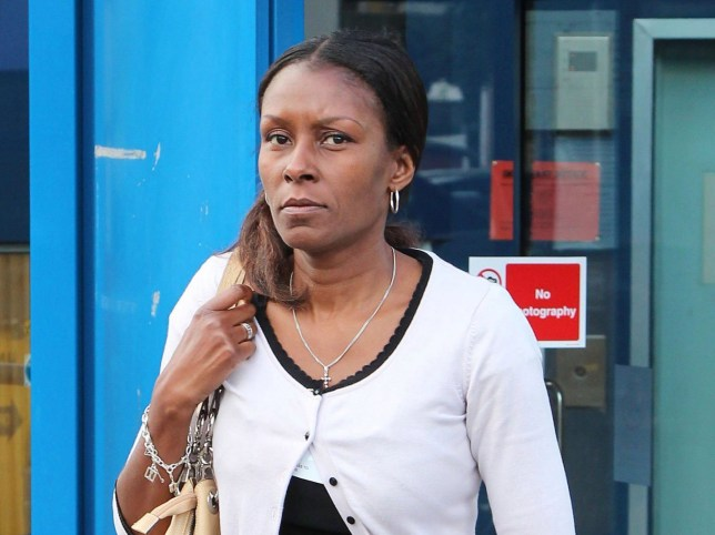 DC Andrea Brown at an employment tribunal in Croydon.