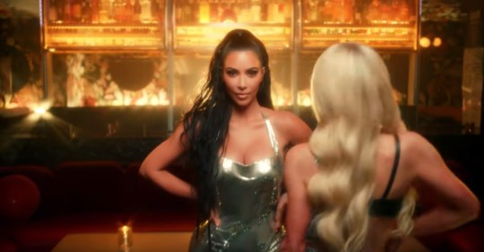 Kim Kardashian stars in old pal Paris Hilton's new music video after thanking her for 'giving her a career'