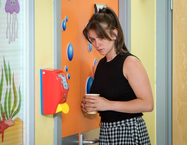 Editorial use only Mandatory Credit: Photo by ITV/REX (9735715di) Ep 9503 Monday 9th July 2018 - 2nd Ep A devastated Sophie Webster, as played by Brooke Vincent, overhears Kevin telling Gina he wishes he'd never left Jack in Sophie's care and blames himself for what happened. 'Coronation Street' TV Series UK - 2018
