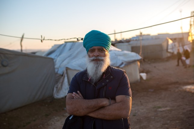 Mandatory Credit: Photo by Ed Stone/REX (8447632ai) Ravi Singh, founder of Khalsa Aid Yazidi refugee camp, Dukok, Iraq - Feb 2017 Ravi Singh, founder of Khalsa Aid. Founded on the Sikh principle of recognising 'the whole human race as one', Khalsa Aid was set up to provide humanitarian aid in disaster areas and areas hit by civil conflict overseas, and has also offered aid to those hit by floods in the UK.