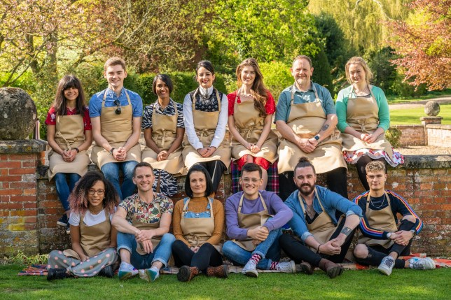 Contestants for the 2019 series of The Great British Bake Off