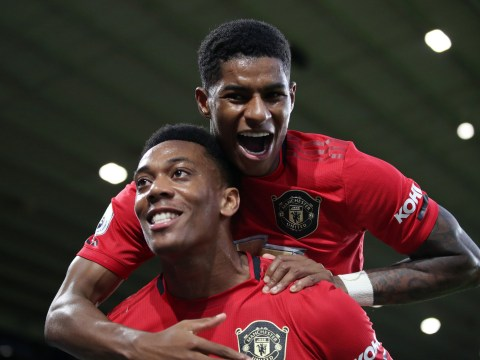 Anthony Martial reveals his goalscoring competition with Marcus Rashford at Manchester United