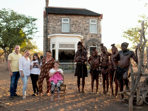 Scarlett Moffatt and family move into British semi built in African village for baffling new Channel 4 show