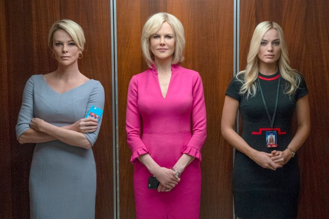 Charlize Theron's incredible transformation into Megyn Kelly is revealed in gripping trailer for Roger Ailes movie Bombshell - alongside Nicole Kidman as Gretchen Carlson The women play Fox News anchors Megyn Kelly and Gretchen Carlson who accused Fox chief Roger Ailes of sexual harassment in 2016 Bomshell will focus on the sexual harassment allegations that led to Ailes resignation in 2016 Disgraced CEO Ailes was personally appointed by Rupert Murdoch back in 1996 Ailes passed away the following year aged 77 after suffering a subdural hematoma Bombshell is slated for release December 20