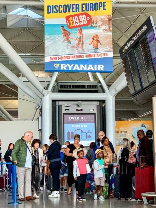 Ryanair pilot strike leaves passengers 'anxious and stressed