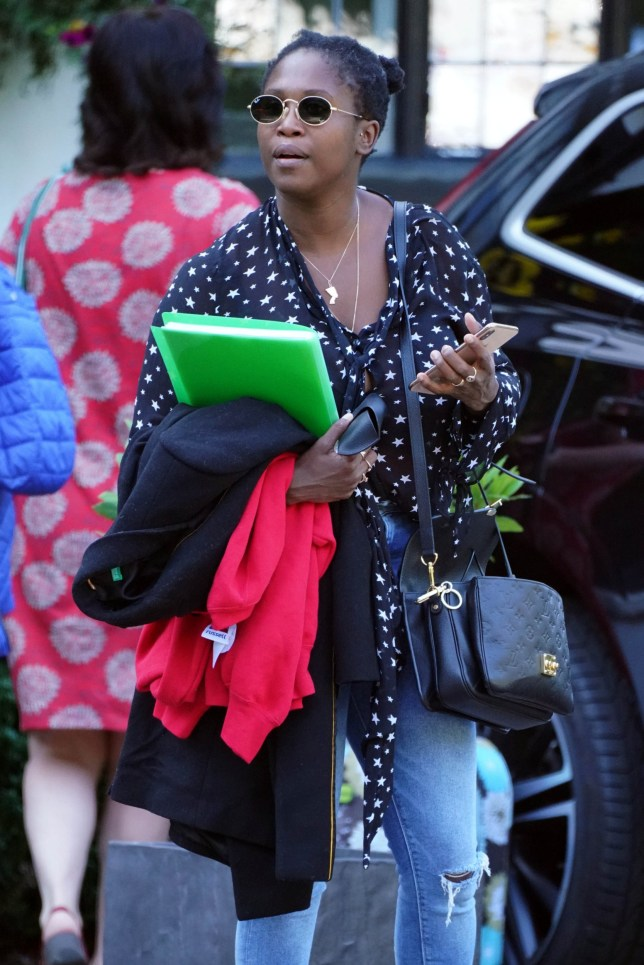 New BBC Strictly Judge Motsi Mabuse Seen leaving her London Hotel. Pictured: Motsi Mabuse Ref: SPL5110341 220819 NON-EXCLUSIVE Picture by: SplashNews.com Splash News and Pictures Los Angeles: 310-821-2666 New York: 212-619-2666 London: 0207 644 7656 Milan: +39 02 56567623 photodesk@splashnews.com World Rights,