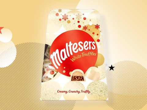 Maltesers white chocolate truffles are here for Christmas and suddenly we can't wait for winter