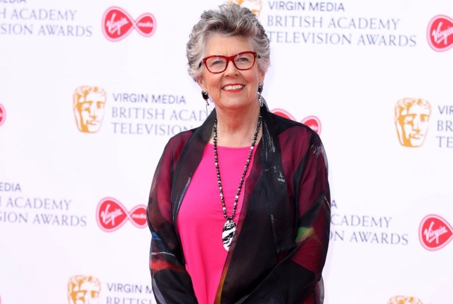 LONDON, ENGLAND - MAY 12: Prue Leith attends the Virgin Media British Academy Television Awards 2019 at The Royal Festival Hall on May 12, 2019 in London, England. (Photo by Mike Marsland/WireImage)