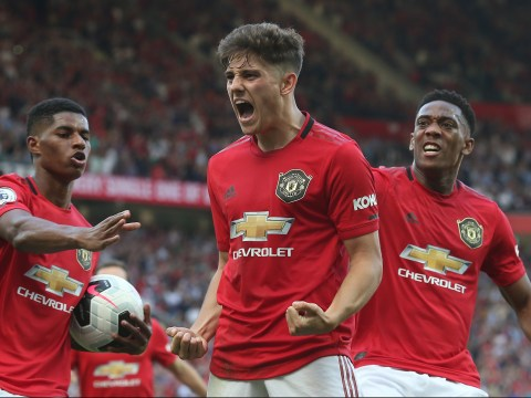 Ole Gunnar Solskjaer reveals Daniel James concern after Man Utd's defeat to Crystal Palace