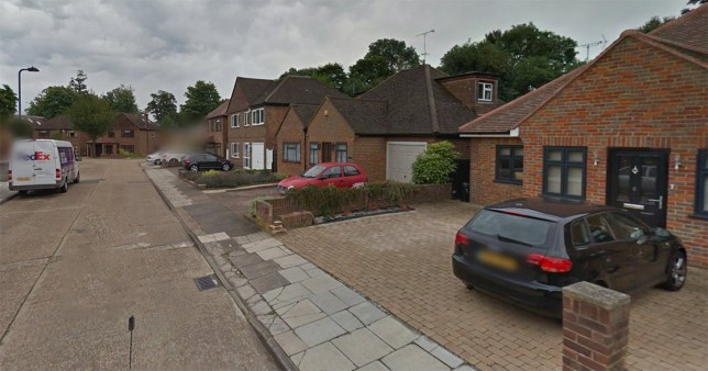 The man was pronounced dead at the scene in St. Mary's Avenue in Southall