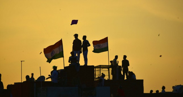 Kite flying is popular in India, especially on Independence day (Picture: Hindustan Times)