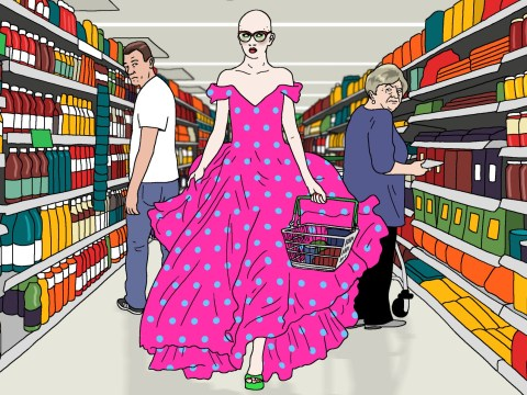Why you should wear your ballgown to the supermarket