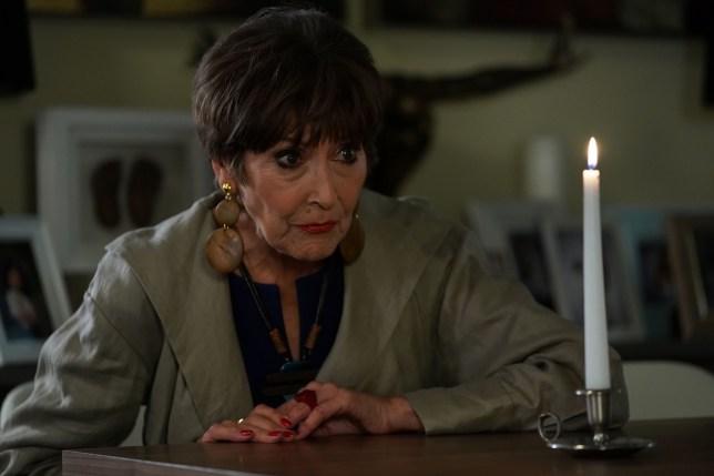 Shyanna the medium in Eastenders played by Anita Harris
