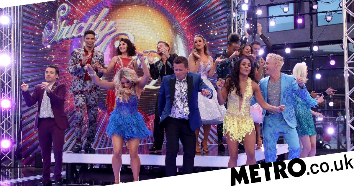 Strictly launch party: 2019 line-up get dressed up in