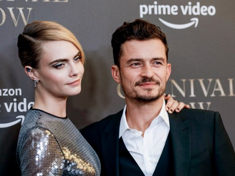 Orlando Bloom admits Cara Delevingne sex scenes were a 'little awkward' on Carnival Row