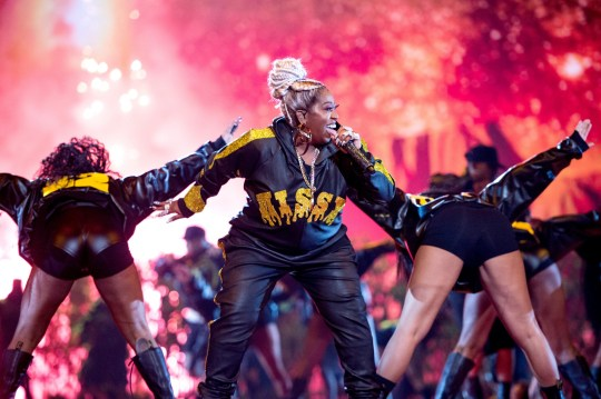 NEWARK, NEW JERSEY - AUGUST 26: Missy Elliott performs onstage during the 2019 MTV Video Music Awards at Prudential Center on August 26, 2019 in Newark, New Jersey. (Photo by John Shearer/Getty Images)