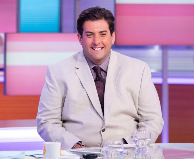 Editorial use only Mandatory Credit: Photo by Ken McKay/ITV/REX (10372682d) James Argent 'Good Morning Britain' TV show, London, UK - 27 Aug 2019 ARG & LINFORD CHRISTIE Sink or Swim starts tonight on Channel 4 which sees a group of non swimming celebs try and swim. Arg is one of the Celebs taking part alongside Olympic Gold Medallist Linford Christie but do they sink or swim? VT: clip from the show with credit Mediawall: Arg and Linford