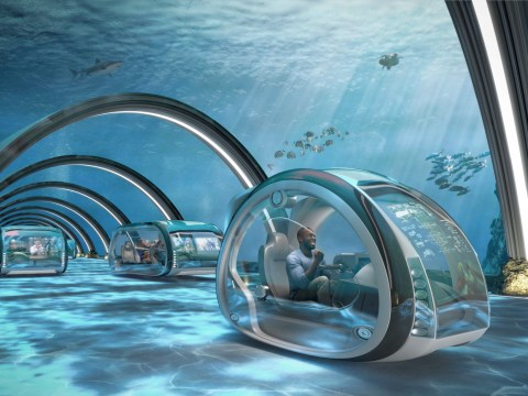 From underwater motorways to space holidays… Samsung reveals the future of technology