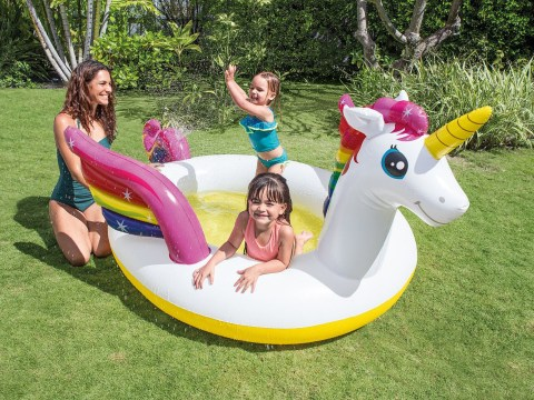 Asda unicorn sprinkler pool down from £18 to just £1.80