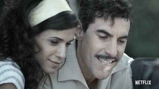 Sacha Baron Cohen in The Spy