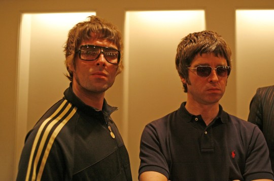 Oasis - Liam and Noel Gallagher